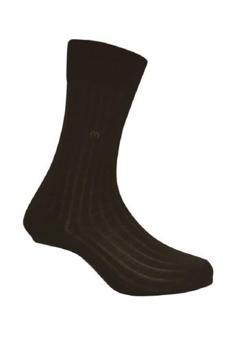 Mundo brown Mundo Orange Business Men Sock Salur 100% Mercerized Cotton - IJ2C501 00C70AA1C2ECA8GS_1