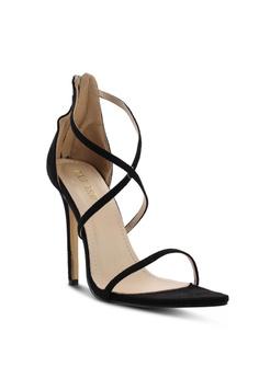 337a1ba2d2dabb 52% OFF Public Desire Quartz Cross Straps Stiletto Heels HK  369.00 NOW HK   176.90 Sizes 5 7
