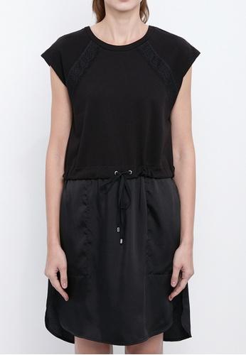 Dkny black DKNY Women French Terry Dress C739EAA5402AE5GS_1