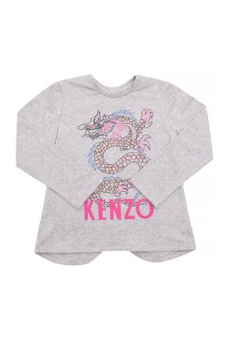 KENZO KIDS grey KENZO KIDS GIRLS T-SHIRT A3130KA3675D58GS_1