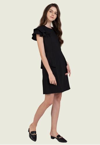 L'zzie black LZZIE CHYLER DRESS - BLACK 38980AA52FE3CCGS_1