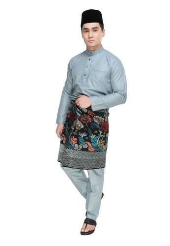 Amar Amran blue Baju Melayu Raja Sehari 6E1B1AA6F38EDFGS_1