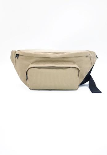 Private Stitch brown PSG design Crossbody Bag A6CD1ACD474A9FGS_1