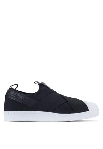 adidas black adidas originals Superstar AD372SH0SEAGMY_1