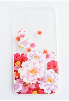Floral Soft Transparent Case for iPhone 6 plus, 6s plus