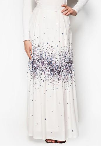 花卉印花長裙, 服飾,esprit 鞋 裙子