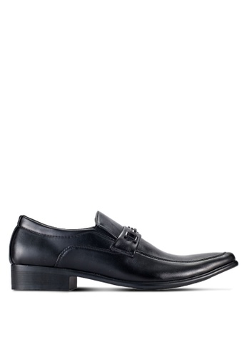 Albertini black Formal Slip On Shoes AL779SH74ZEZMY_1