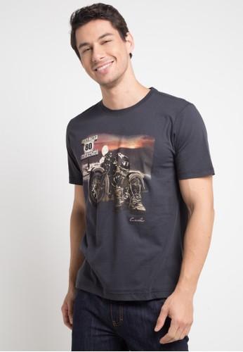 T-Shirt Road Dg Men - Dark Grey - CARVIL