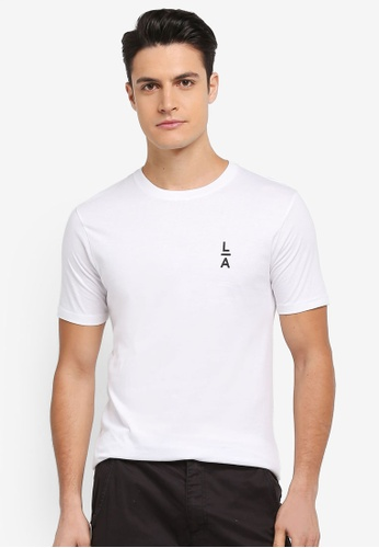 Factorie white Tagged Tee 02D8DAAD512628GS_1