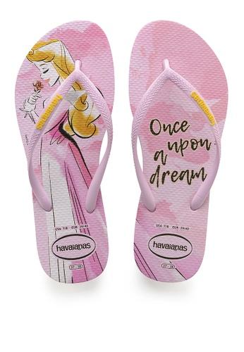 Havaianas pink Slim Princesas Flip Flops 15FD8SH581CFB1GS_1