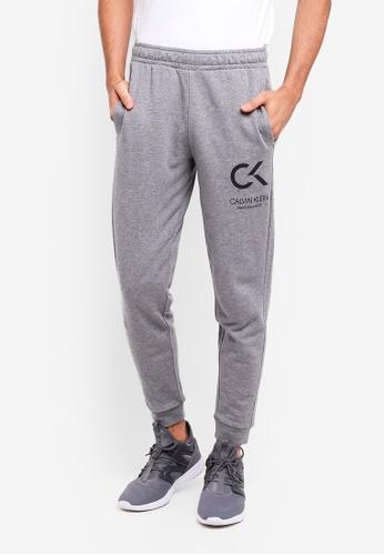 Calvin Klein 灰色 Icon Terry Pants D7240AA4BC3D5FGS_1