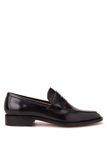 Bristol Shoes black Milton Black Penny Loafer BR842SH18PABPH_1