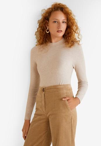 MANGO grey Fine-Knit Sweater E7BE0AAB417FE8GS_1