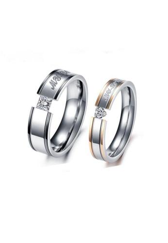 ADORA multi Stainless Steel Couple Rings B91B3AC813B77FGS_1