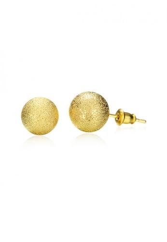 Sopistikada Gold Jamaica 18k Plated Earrings So776ac08cmlph 1