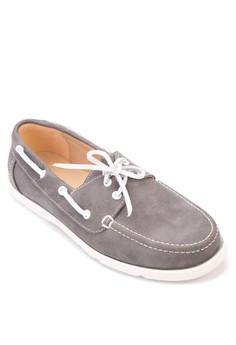 Billy PU Leather Boat Shoes