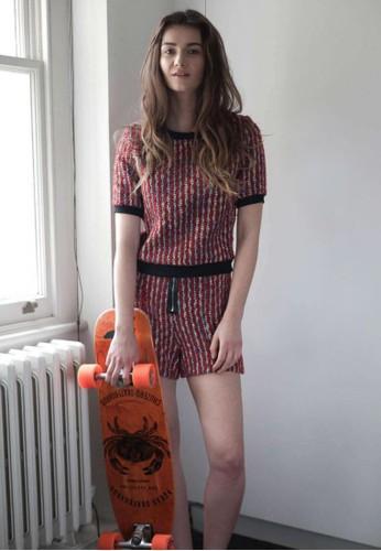 圈毛短esprit官網褲, 服飾, 休閒短褲