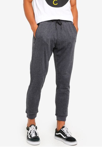 threads by the produce grey Cotton Terry Joggers A3DECAADE23664GS_1