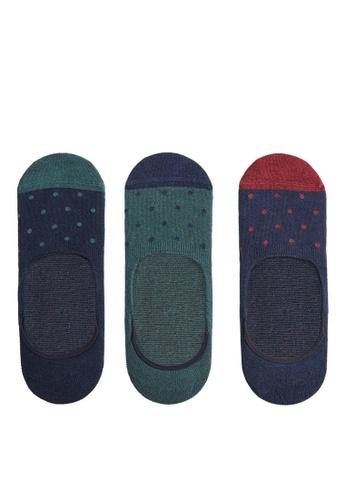 Mango Man 藍色 隱形襪組 530E1AA52C9B09GS_1