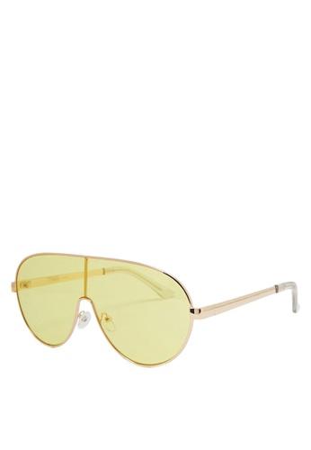 5b27a4601b Buy FOREVER 21 Tinted Aviator Sunglasses Online on ZALORA Singapore