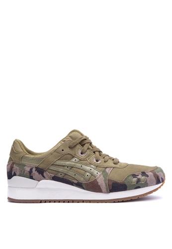 ASICSTIGER green GEL-Lyte III Sneakers AS118SH0JOWTPH_1