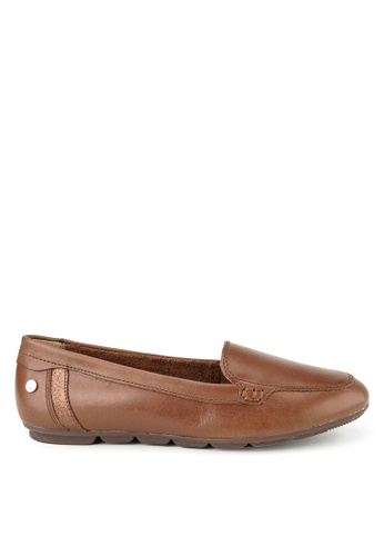 Hush Puppies brown Hush Puppies Abby Loafer In Dachshund D2D74SHE675E4EGS_1