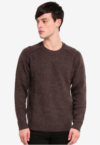 Selected Homme 灰色 羊毛衫 58E94AA06DBCBDGS_1