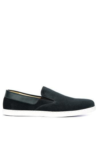 Gibi green Nom 024 Slip-On Shoes 4F8A0SHDA7A852GS_1