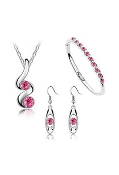 Buds Austrian Crystal Accessories Jewellery Sets