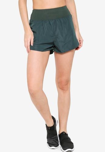 ZALORA ACTIVE green Back Pocket Running Shorts B1BD2AAB8E7A3EGS_1