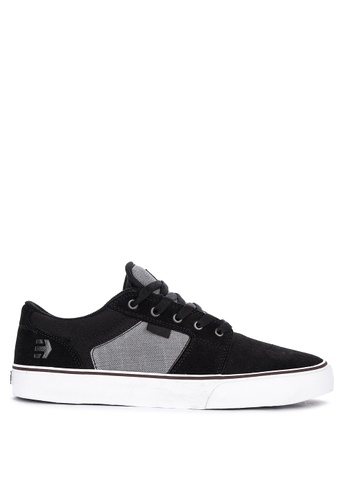 Etnies black Barge Ls Sneakers 34EA9SHE57EDBBGS_1