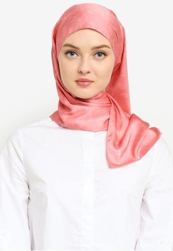 Hijabii pink Ranea Shawl in Pink DF288AC14BB25EGS_1