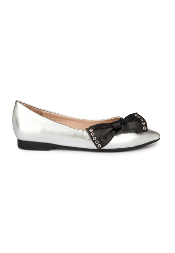 MAUD FRIZON silver Frances Shoes 56BB5SHB624985GS_1