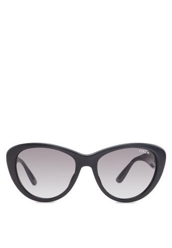 In Vozalora 衣服尺寸gue 貓眼太陽眼鏡, 飾品配件, 貓眼框