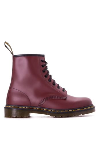 Dr. Martens red 1460 Smooth Boots DR086SH54LDLPH_1