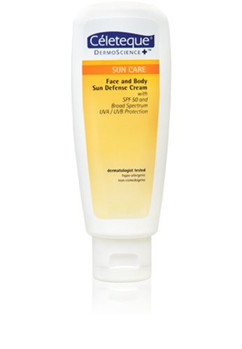 Celeteque n/a Celeteque Sun Care Face And Body Sun Defense Cream Spf 50 120Ml CE714BE70XSRPH_1
