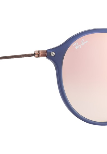 9ef2aec36fbc7d Buy Ray-Ban Round Flat Lenses RB2447NF Sunglasses Online on ZALORA Singapore