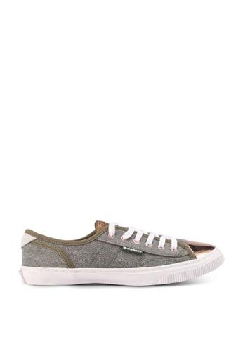 Superdry 綠色 Low Pro Luxe Sneaker 85D1ASH8DC7827GS_1