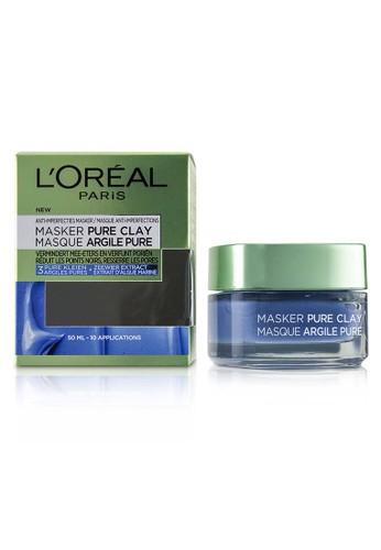 L'Oréal L'ORÉAL - Pure Clay Mask - Anti-Imperfections Mask 50ml/1.7oz 2481BBEB9651BAGS_1