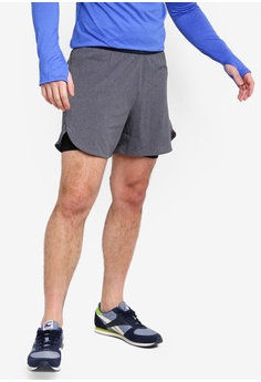 3e699a46b044 Reebok black Running Epic Two-in-One Shorts 51521AA7174312GS 1