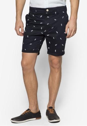 羽毛印花短褲, 服飾, 泳褲及沙灘esprit tsim sha tsui造型