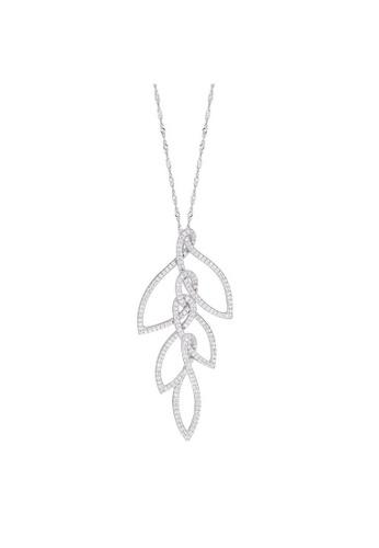 Morellato silver Morellato 1930 Stering Silver 925 Zircons Ladies Necklace SAHA04 20DBDAC8887B7BGS_1