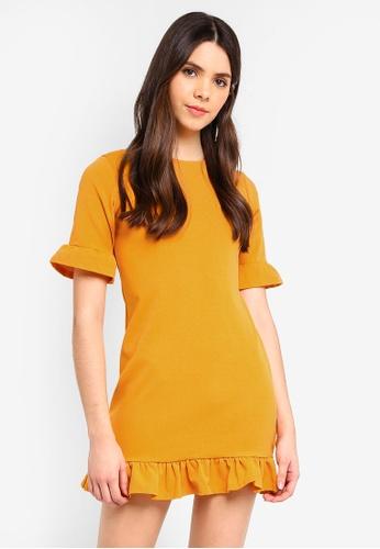 ba70255709d Shop MISSGUIDED Frill Detail Shift Dress Online on ZALORA Philippines