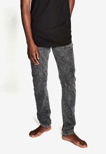 Cotton On grey Slim Fit Acid Washed Jean D860BAA852FCE6GS_1