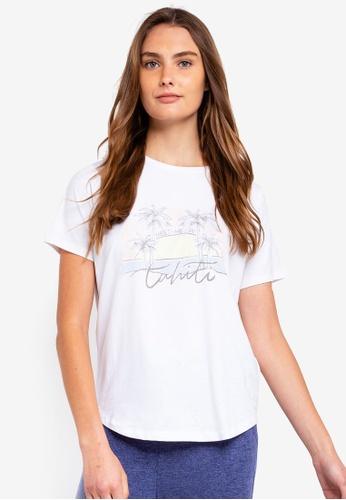 Cotton On Body white Jersey Scoop T-Shirt 8329DAA2FD02B1GS_1
