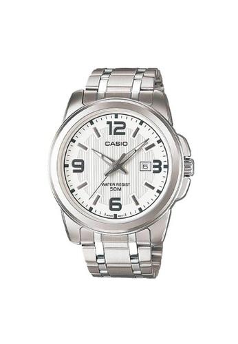 Casio silver CASIO GENERAL MTP-1314D-7AVDF UNISEX'S WATCH 3B856AC98113C1GS_1