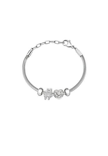 Morellato white Drops Bracelet SCZ1003 Steel Stone B3F57ACFC039D0GS_1