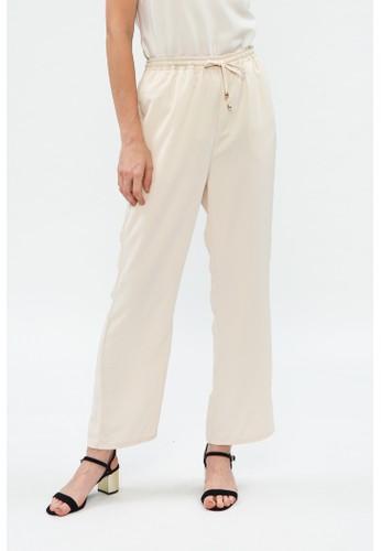 Minimal beige Basic Twill Trouser E05FEAA633C3E8GS_1