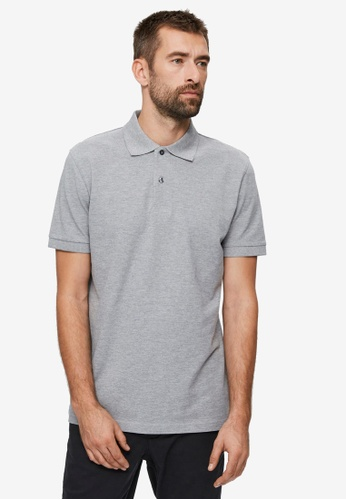 Selected Homme grey Neo Polo Shirt 2BACAAAF2563B2GS_1