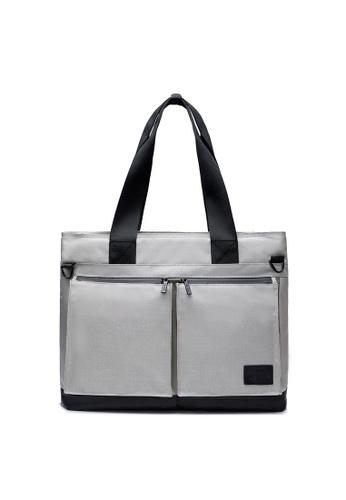 The Dude grey Temper Tote Bag TH373AC2V1R9HK_1